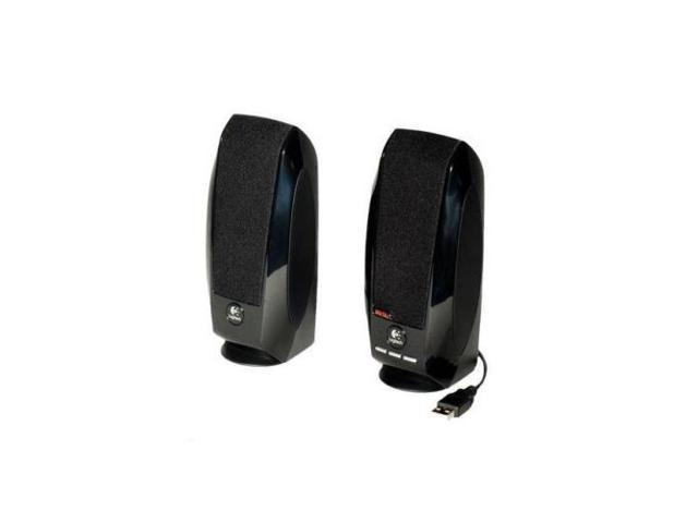 Logitech S-150 Digital USB Speaker System Black New