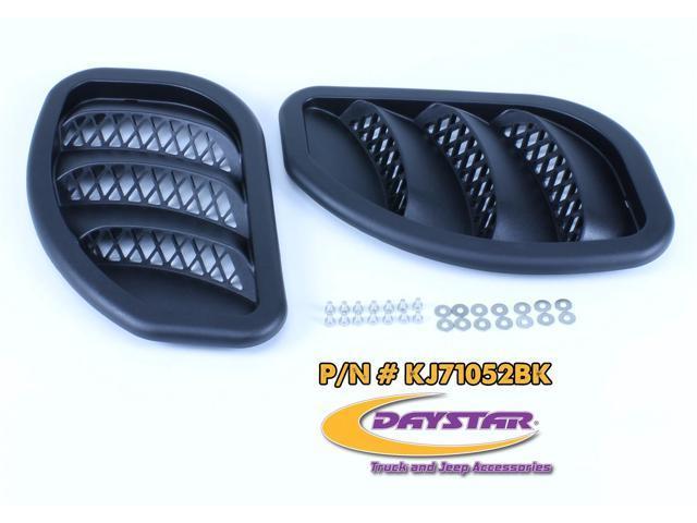 Daystar KJ71052BK Hood Vent Fits 84-01 Cherokee (XJ)