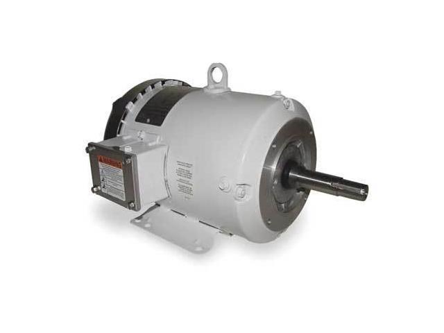 Dayton 2lhl1 Washdown Motor 3 Ph Tefc 5 Hp 1750 Rpm
