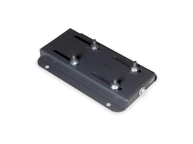 15 adjustable steel motor base dayton 3m282 for Adjustable motor base mount