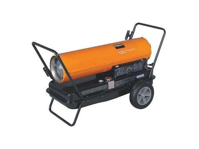 Dayton 170000 Btuh Oil Fired Torpedo Heater Kerosene