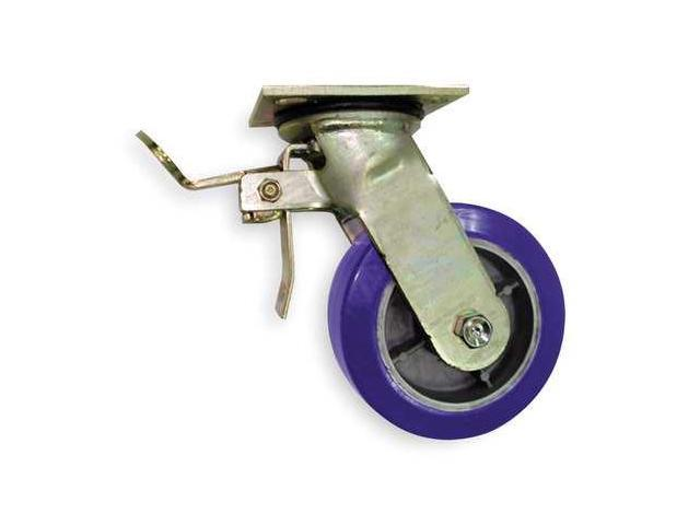 1NVF1 Swivel Plate Cstr w/Total-Lock, , 5 In Dia