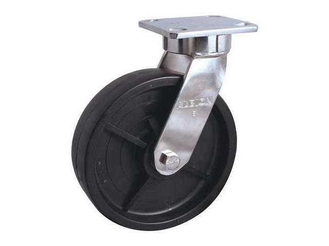 Kingpinless Swivel Caster,Nylon,8 in,900 lb, 120NW08228SG
