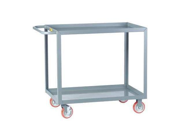 Gray Welded Utility Cart, LGL-2436-BRK, Little Giant