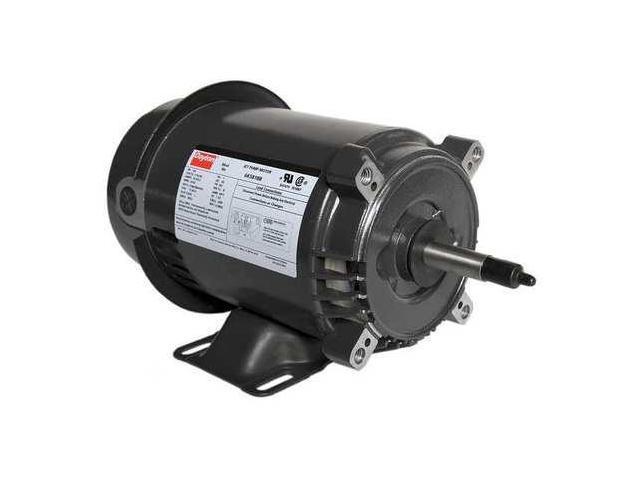 Dayton 6k581 Motor 3 4hp Jet Pump