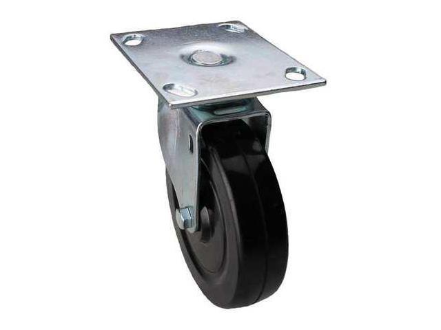 ALBION 02RR06128S002GN Swivel Plate Caster,280 lb,6 In Dia
