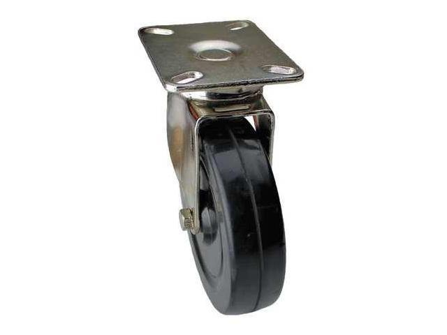 ALBION 02RR06151S002GN Swivel Plate Caster,280 lb,6 In Dia