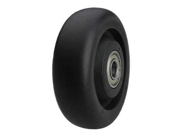 ALBION IB0500106G Caster Wheel, 450 lb., 5 D x 1-1/4 In.