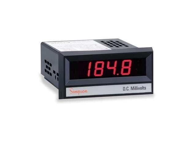 Simpson Digital Panel Meters : Simpson electric digital panel meter newegg