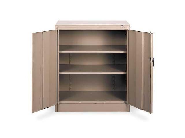 Counter Height Storage Cabinet : TENNSCO 1442 SD Counter Height Storage Cabinet, Standard-Newegg.com