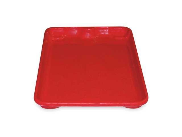 Heavy Industrial Duty N/S Container Lid, Red ,Molded Fiberglass, 7805185280