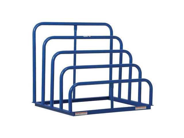 Vertical Sheet Storage Rack Blue Vestil Vhsr 4 Newegg Com