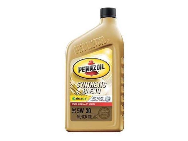 Pennzoil 550030872 motor oil 1 qt 5w 30 dexos1 for Pennzoil 5w30 synthetic blend motor oil