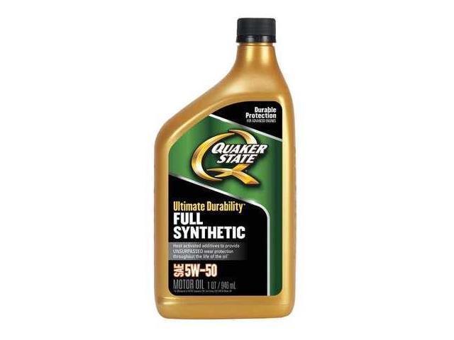 Quaker state 550036718 motor oil 1 qt 5w 50 full for 5w 50 synthetic motor oil