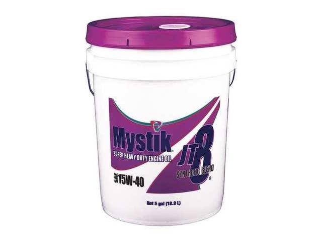 Mystik 663003002004 Motor Oil Synthetic Blend 15w 40 5