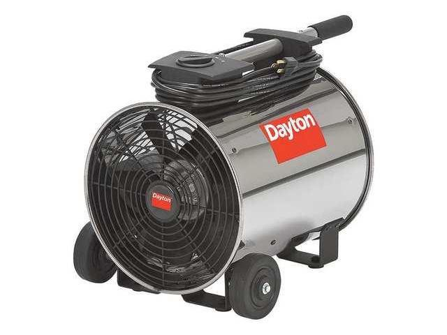 Dayton Industrial Fans And Blowers : Portable blower fan dayton vd newegg