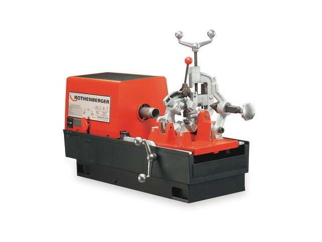 rothenberger pipe threading machine