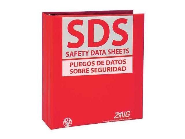 SDS Safety Data Sheets Binder, Zing, 6034 - Newegg.com