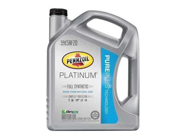 Pennzoil 550038332 Motor Oil 5 Qt 5w 20 Full Synthetic