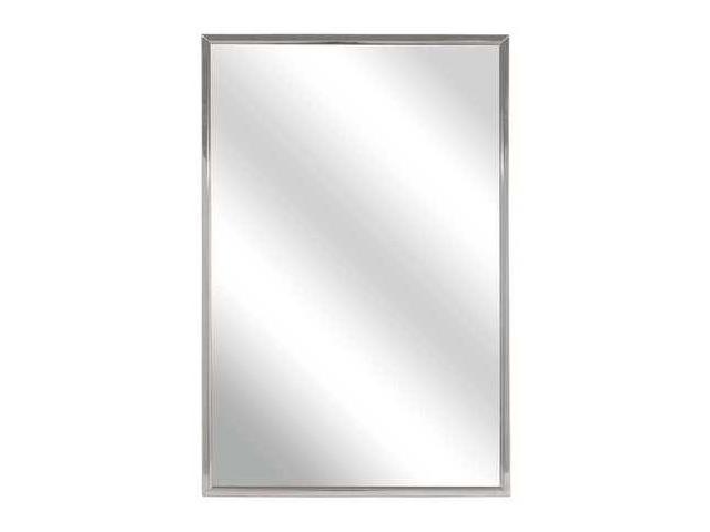Bradley Framed Mirror Glass 24 H X 18 W Ada Compliant