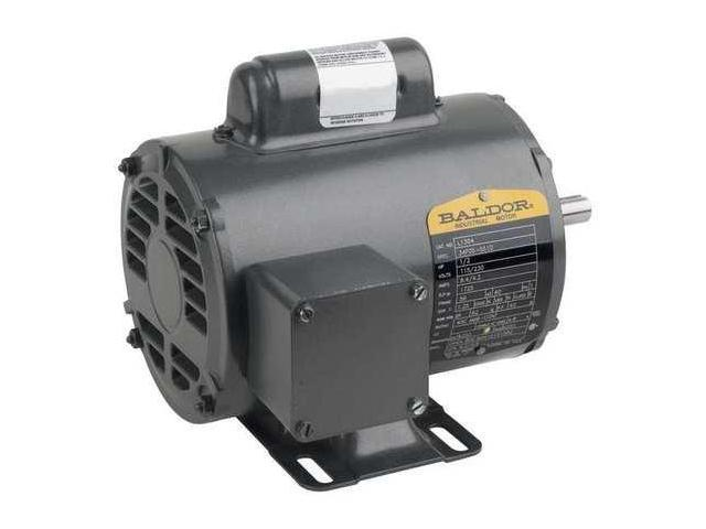 Baldor Electric L1405t Motor 2 Hp 1725 Rpm 115 230v