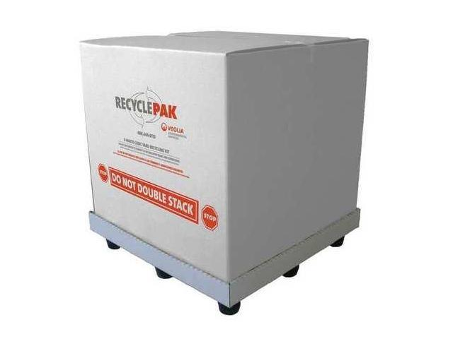 RECYCLEPAK SUPPLY-260 Electronics Recycling Kit,36x36x36In G9458251
