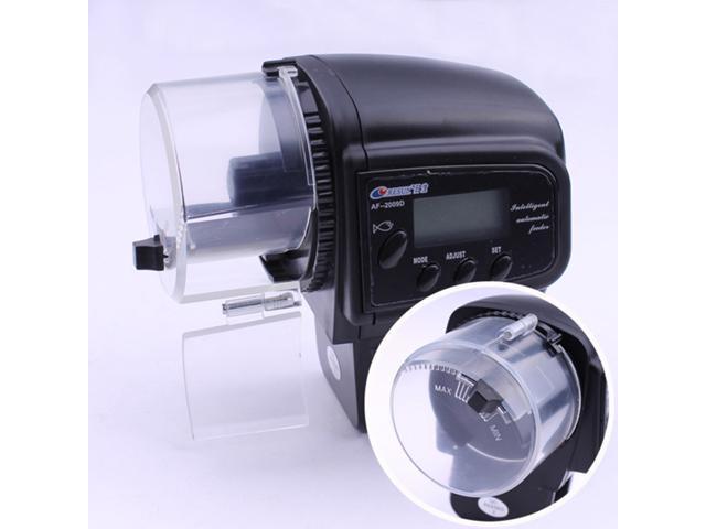Aquarium automatic fish feeder resun af 2009d with digital for Fish feeder timer