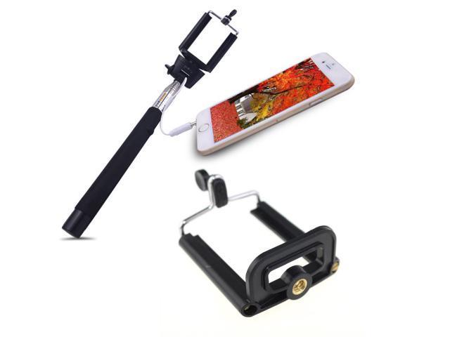 selfie stick handheld monopod wired tripes para celular for mobile phone with. Black Bedroom Furniture Sets. Home Design Ideas