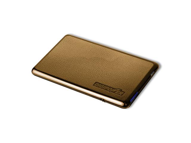 DigiPower JS-CCIP ChargeCard for Android Devices with Micro USB Connector - Brown