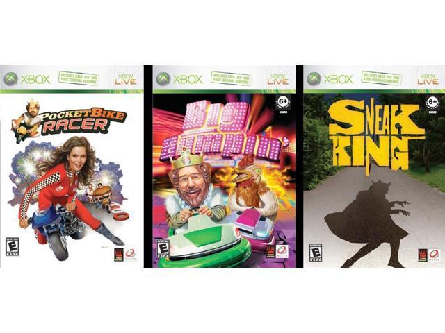 A Rated Games For Xbox 360 : Microsoft xbox burger king big bumpin video game