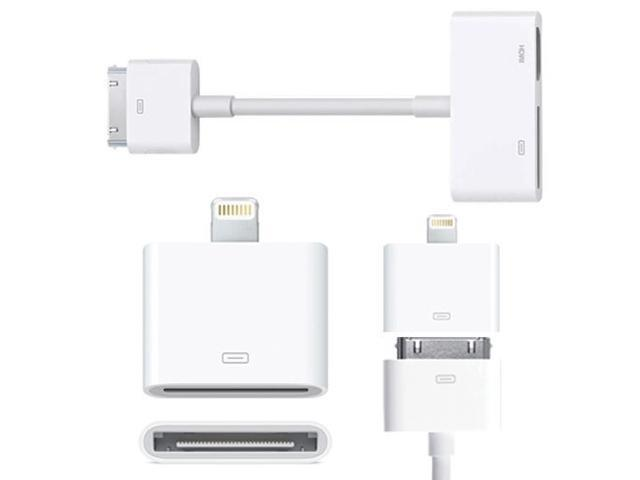 Apple ipad av adapter 30 pin to hdmi mirrors to tv or for Apple projector for ipad