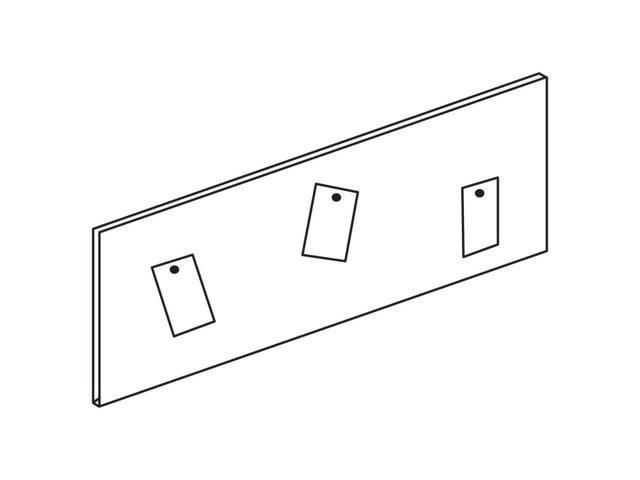 Heartwood Innovations Series Tackboard