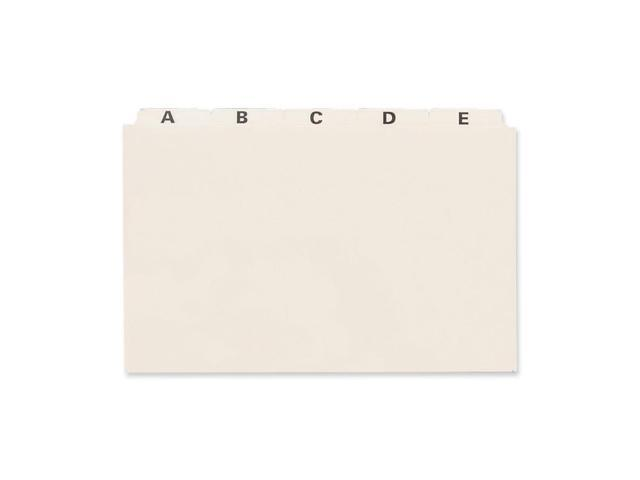 Esselte PlainTab Index Card File Guide