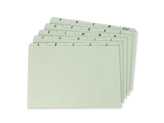 Esselte Plain Tab File Guide