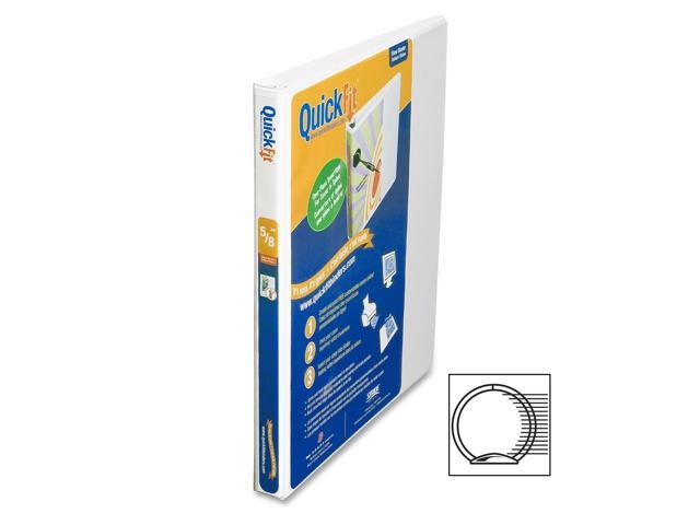 QuickFit Round-Ring View Binder 1
