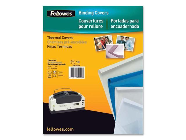 Fellowes Thermal Presentation Covers - 1/4inch, 60 sheets, Blue