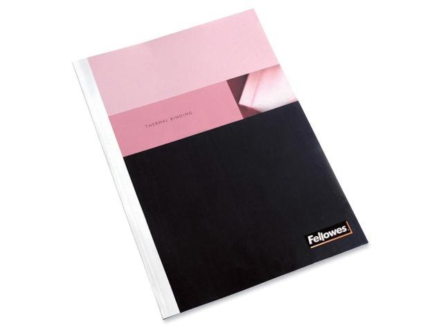 Fellowes Thermal Presentation Covers - 1/16inch, 15 Sheets, White