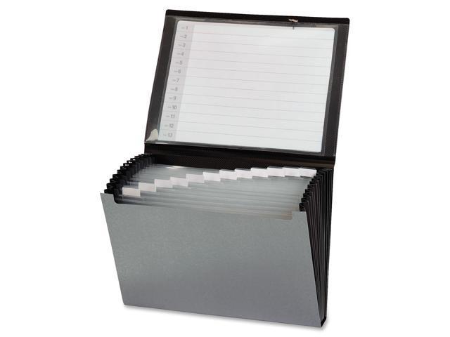 Cardinal 13-Pocket Clearvue Expanding Letter-Size Window File