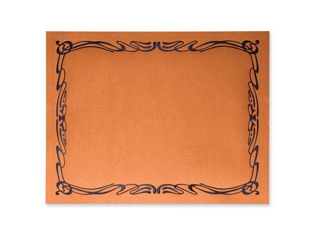 First Base 83426 Metallic Copper Certificate Holder