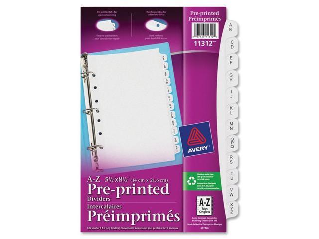 Avery Preprinted Tab Divider