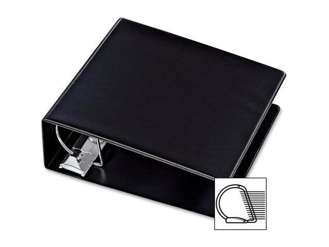 Cardinal Heavy Duty Reference Locking Slant-D Ring Binder, 6inch Black