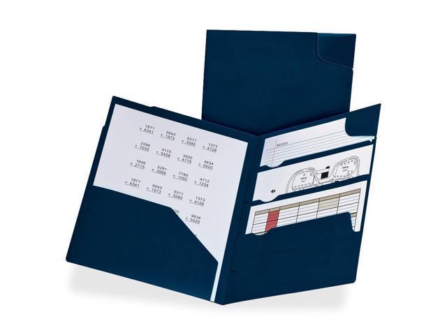 Oxford Divide-It Up 4-Pockets Poly Folder 5 Packs