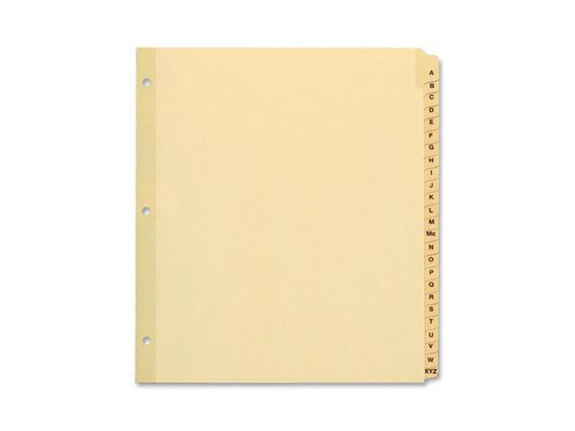 Oxford Preprinted Tab Divider
