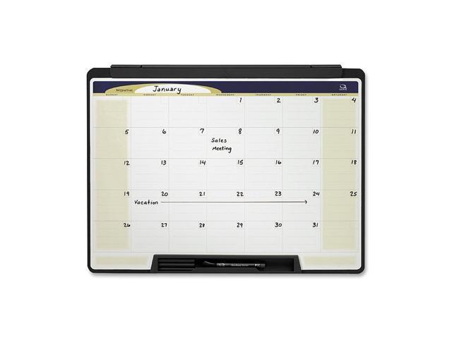 Quartet Cubicle Motion Dry Erase Calendar