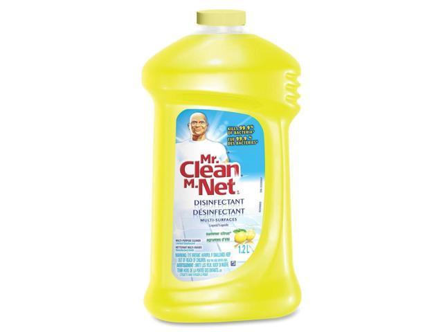Mr. Clean Multi-Surfaces Disinfectant Liquid Kills Flu Virus