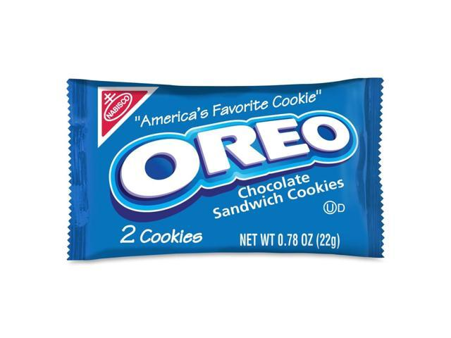 Unisource 00142 23g OREO 2 Pack Cookie