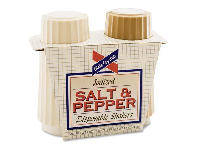 Diamond Crystal Salt & Pepper Disposable Shakers
