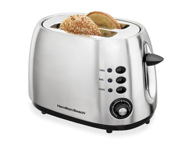 Hamilton Beach 2-Slice Brushed Finish Toaster