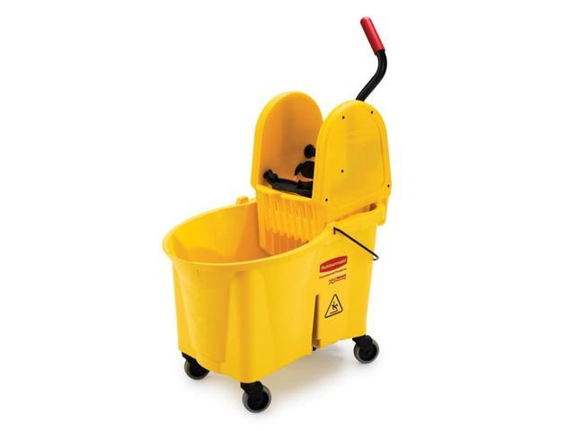 Rubbermaid WaveBrake Down Press Combo Mop Bucket