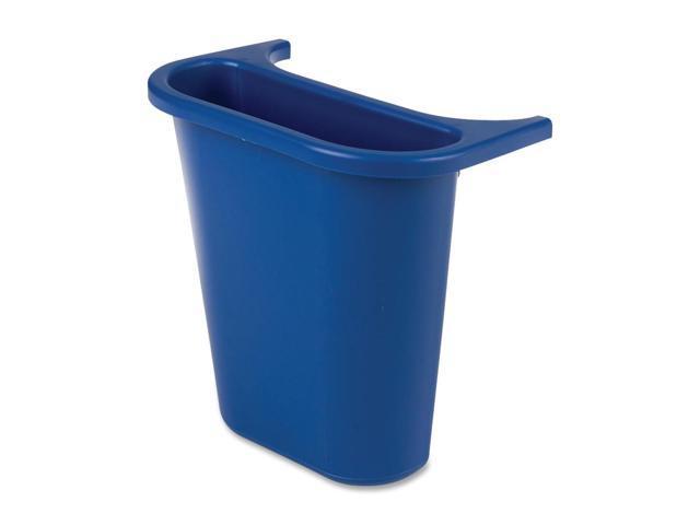Rubbermaid 2950-73 Deskside Wastebasket Recycling Side Bin